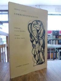 Jouhy, Correspondances – Poemes en deux langues = Dichtung in zwei Sprachen, (si
