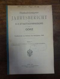 Scharnagl, Teil 1: De Arnobii maioris latinitate pert II., Teil 2: Schulnachrich