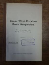 Terwelp, Joannis Wilmii Chronicon Rerum Kempensium,