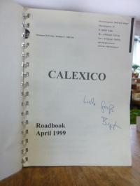 Calexico [Rockband] / Seliger, Calexico Roadbook April 1999,