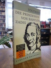 Voltaire Zadig / Die Prinzessin von Babylon,