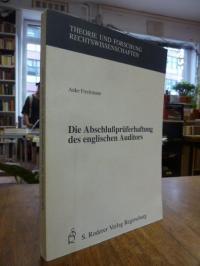 Freckmann, Die Abschlussprüferhaftung des englischen Auditors,