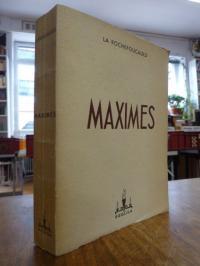 La Rochefoucauld, Reflexions ou Sentences et Maximes Morales (auf Vorderdeckel u