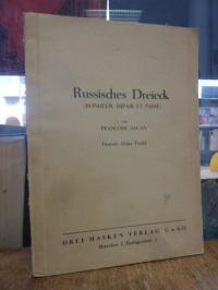 Sagan, Russisches Dreieck (Bonheur, impair et passe), Bühnenmanuskript, deutsch