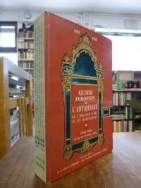 Emer, Guide Europeen de l'antiquaire, de l'amateur d'art et du bibliophile 1967
