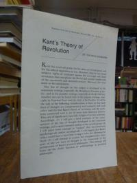 Kant, Kant's Theory of Revolution,