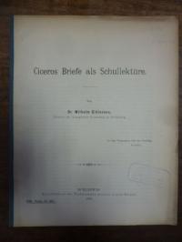 Gidionsen, Ciceros Briefe als Schullektüre,