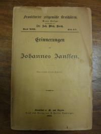Erinnerungen an Johannes Janssen – Von einem alten Schüler,