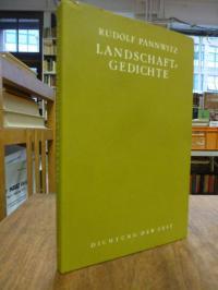 Pannwitz, landschaftsgedichte