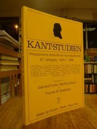 Kant, Kant-Studien – Philosophische Zeitschrift der Kant-Gesellschaft, 87. Jahrg