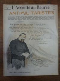 Antikriegs-Nummer, L'assiette au beurre N° 347, 23. Novembre 1907: Antimilitaris