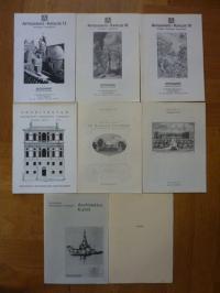 Antiquariatskatalog / Rohlmann / Antiquariat Barbara Schöningh, Konvolut von 7 A