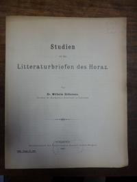 Gidionsen, Studien zu den Litteraturbriefen des Horaz,
