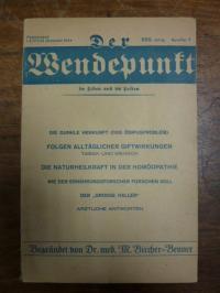 Bircher-Benner, Der Wendepunkt im Leben und im Leiden, XXII. (22.) Jahrgang, Num