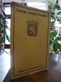 TH Darmstadt, Lehrplan für das Studienjahr 1934/35 der Technischen Hochschule Da