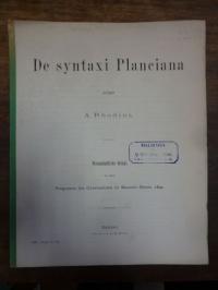 Rhodius, De syntaxi Planciana,