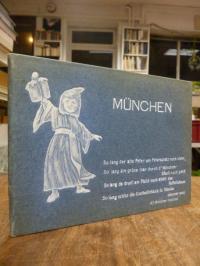 München [20 Ansichten von] München, Leporello,