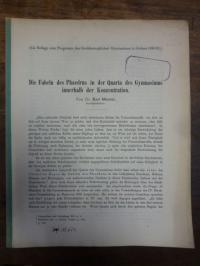 Maurer, Die Fabeln des Phaedrus in der Quarta des Gymnasiums innerhalb der Konze