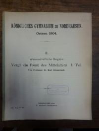Schambach, Vergil ein Faust des Mittelalters, I Teil,