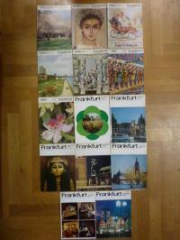 Ihle, Einzelhefte der Zeitschrift 'Frankfurt – Lebendige Stadt – Vierteljahreshe