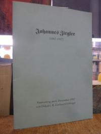Zieglerische Anstalten e.V. [Hrsg.] und Gerhard Döffinger, Johannes Ziegler (184