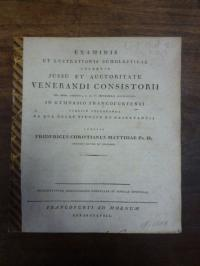 Matthiä, Friedrich , Praemittuntur observationes nonnullae in Senecae Epistolas,