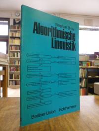 Braun, Algorithmische Linguistik,