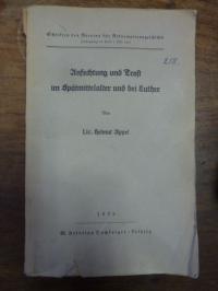 Anfechtung und Trost im Spätmittelalter und bei bei Luther,