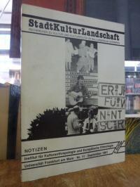 StadtKulturLandschaft – Recherchen zu Kultur und Kulturpolitik im Ballungsraum N
