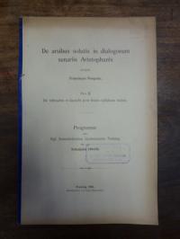 Pongratz, De arsibus solutis in dialogorum senariis Aristophanis Part II: De tri