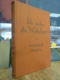 Preussen, Ich suche die Wahrheit! – ein Buch zur Kriegsschuldfrage,