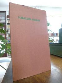 Mann, Schalom Israel – Ein Bericht – Dreißig Frankfurter Schülerinnen und Schüle
