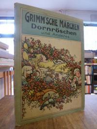 Brüder Grimm (Jacob und Wilhelm), Grimm'sche Märchen mit 4 bunten Bildern [Tisch