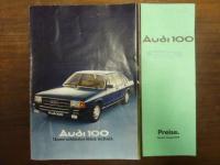 Audi AG, Audi 100 – Unser schönstes Stück Technik, mit der beiliegen