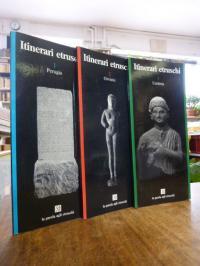 Staccioli, Itinerari etruschi, 1: Peruigia / 2: Orvieto / 3: Umbria, 3 Bände (=