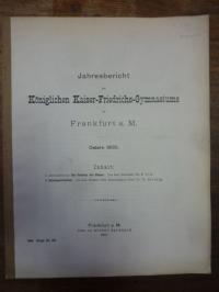 Loesch, Teil 1: Der Feldbau der Römer, Teil 2: Schulnachrichten