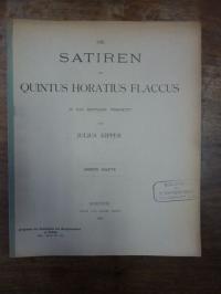 Kipper, Die Satiren des Quintus Horatius Flaccus in das Deutsche übersetzt, zwei