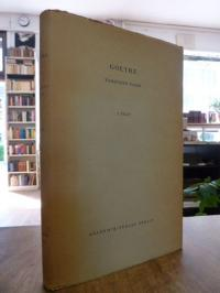 Goethe, Torquato Tasso, [Band] 1: Text,