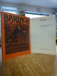 Barlach, Ernst Barlach: Das druckgraphische Werk, (mit der Beilage),