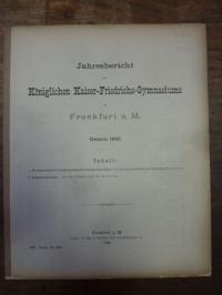 Orth, Teil 1: De Carminibus Prisciani grammatici nomine inscriptis, Teil 2: Schu