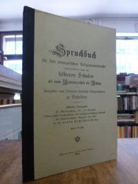 Evers, Spruchbuch für den evangelischen Religionsunterricht, insbesondere auch a