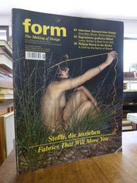 Terstiege, form – The Making of Design, Nr. 229, November/Dezember 2009,