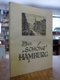 Hamburg, Bildbriefmappe 'Das schöne Hamburg' mit 5 (von 8) Bildbriefbogen,