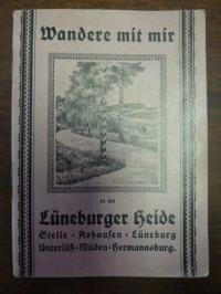 Lüneburger Heide / Weber-Gast, Führer durch die Lüneburger Heide – Stelle, Alsha