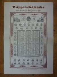 Wappen-Kalender des Hohen Senats der freien Stadt Frankfurt am Main 1838/1979,