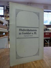 Musterschule / Kallus, Satzung des Musterschulvereins e.V.,
