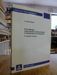Burek, Post-Merger Intercultural Communication in Multinational Companies – A Li