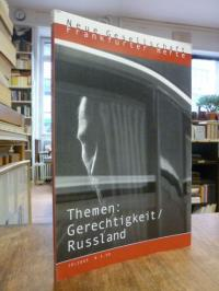 Glotz, Die neue Gesellschaft / Frankfurter Hefte, Nr. 10 / 2003, Themen: Gerecht