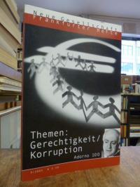 Glotz, Die neue Gesellschaft / Frankfurter Hefte, Nr. 9 / 2003, Themen: Gerechti