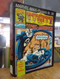 [ohne Autor], Marvel-Maxi-Pockets –  Nr. 36 – Die Fantastischen Vier,